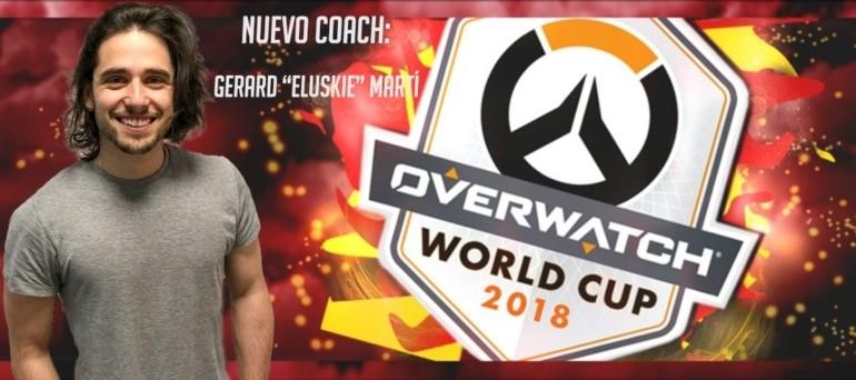 Eluskie, novo adestrador do equipo nacional de Overwatch