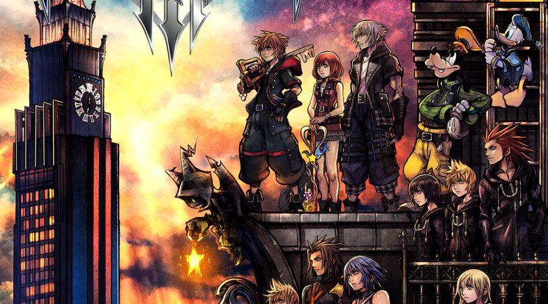 Novo adianto e portada de Kingdom Hearts 3