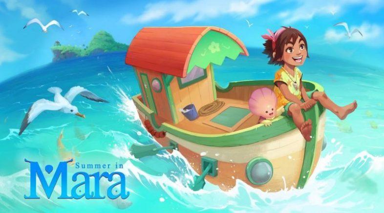 Summer in Mara chegará en galego para Switch, PC e PS4