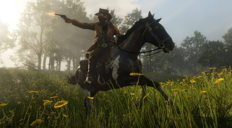 Red Dead Online, os vaqueiros terán multixogador