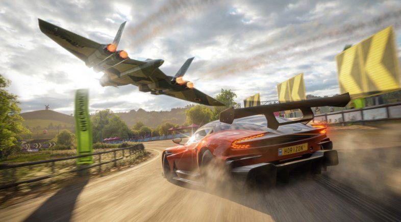 Botamos unhas carreiras? Proba xa Forza Horizon 4