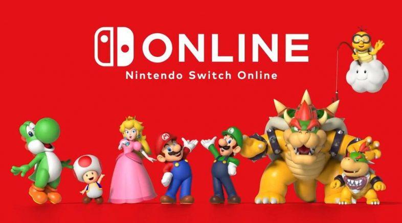 Chegou a hora de pagar para xogar en liña na Switch