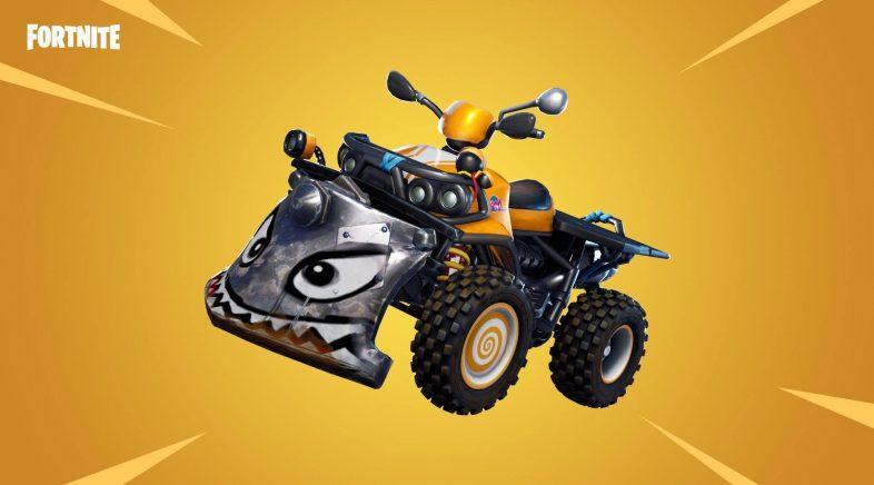 A nova actualización de Fortnite trae un cataclismo sobre rodas