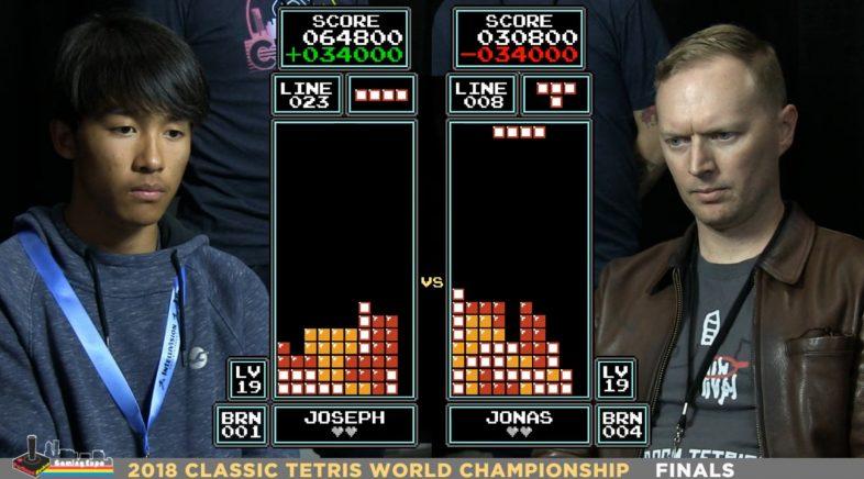 Joseph Saelee, campión do mundo de Tetris con só 16 anos