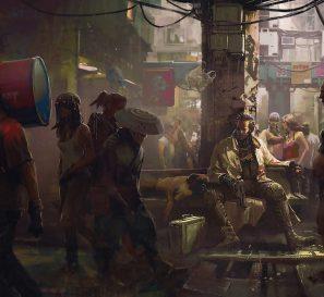 As seis caras de Night City