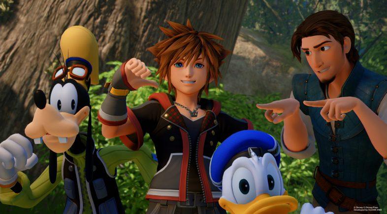 Kingdom Hearts III xa é de ouro