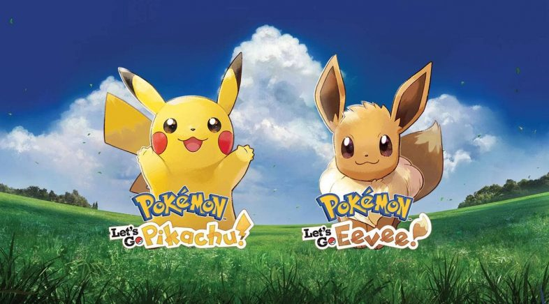 Pokemon Let's Go Eevee! e Let's go Pikachu! Volta a Kanto