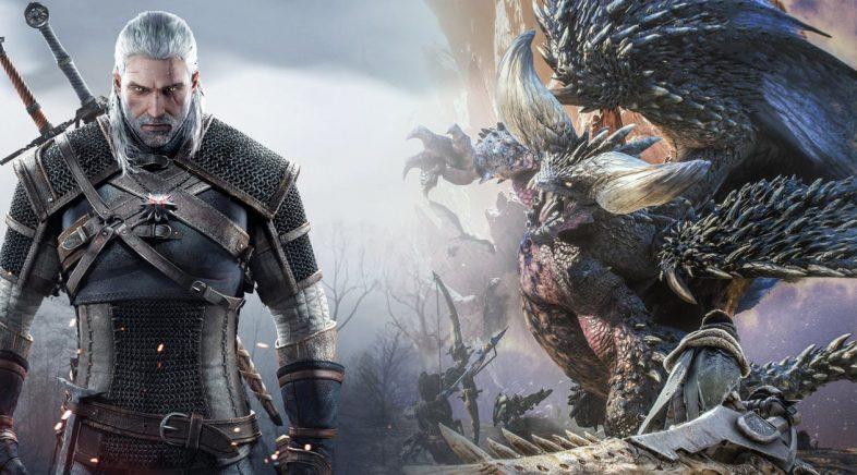 Geralt de Rivia tamén cazará en Monster Hunter World
