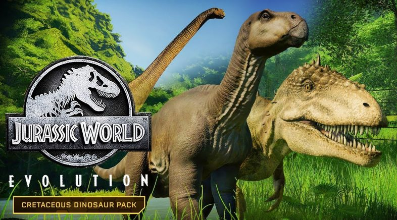 El Cretácico hace su aparición en Jurassic World Evolution