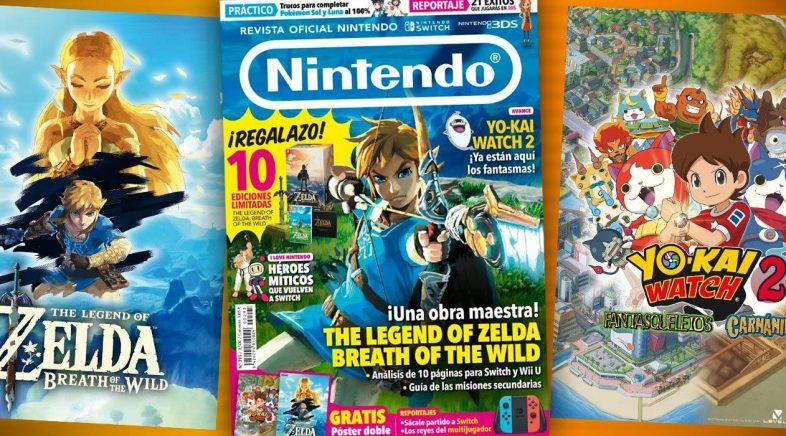 A Revista Oficial Nintendo bota o peche