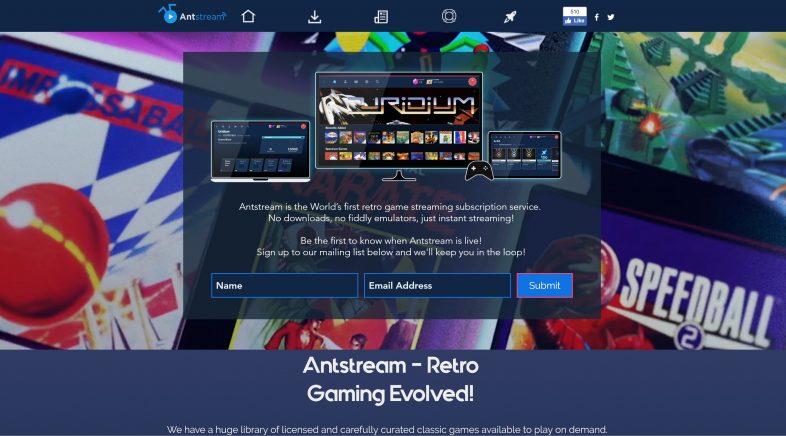 Antstream, unha nova plataforma dixital de videoxogos retro
