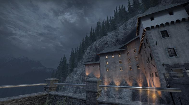 Comparan o castelo de CS: GO coa súa réplica real en Eslovenia