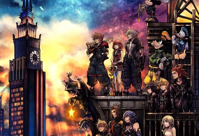 Kingdom Hearts III. A nostalxia é a chave