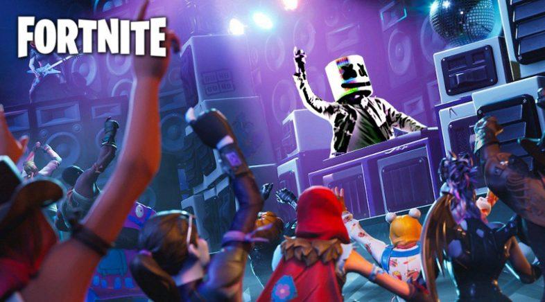 Marshmello e o seu concerto para 10 millóns de xogadores