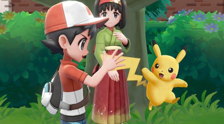 Nintendo actualiza o seu firmware pare corrixir un erro de Pokémon Let's Go