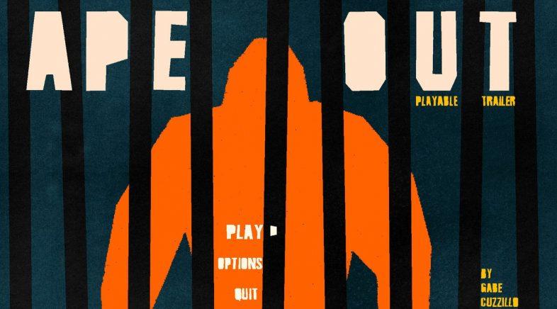Ape Out chegará finalmente a PC e Switch o 28 de febreiro