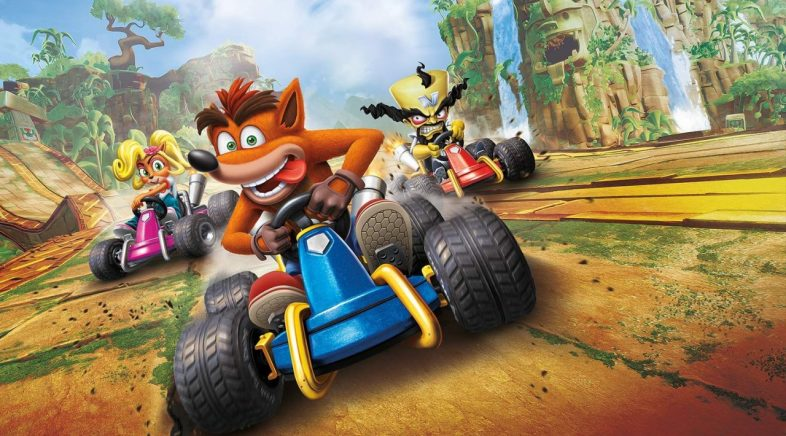 A revisión de Crash Team Racing xa quenta motores