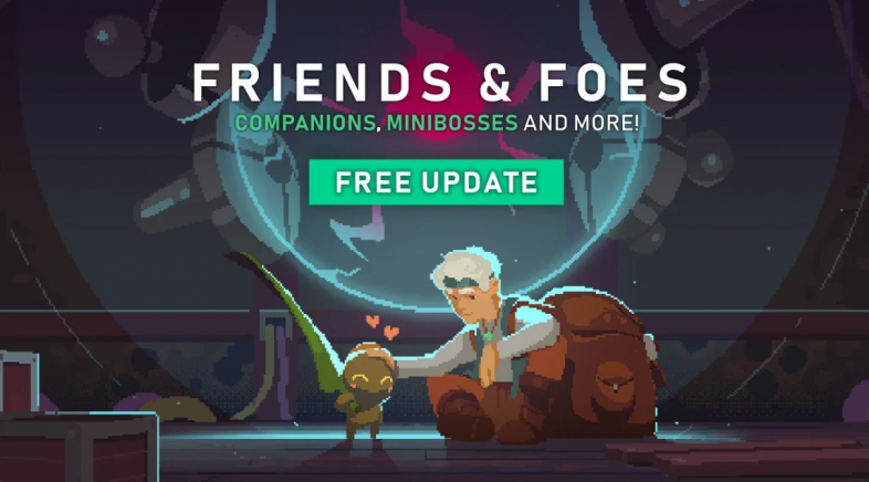 Friends and Foes é a nova actualización de  Moonlighter