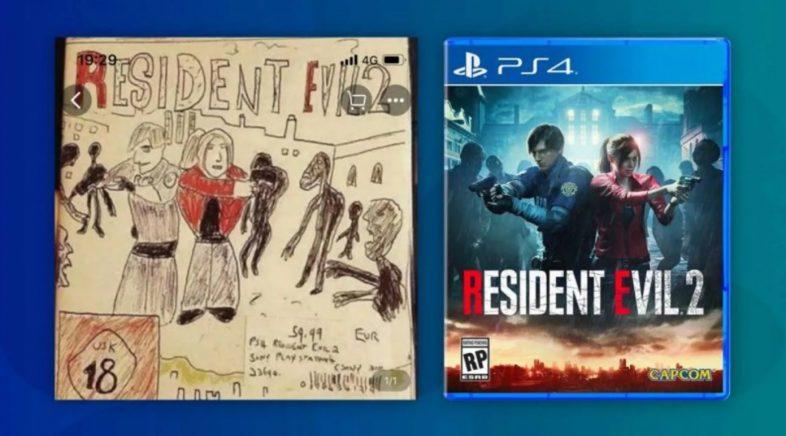 O enxeño como arma para vender Resident Evil 2 en China