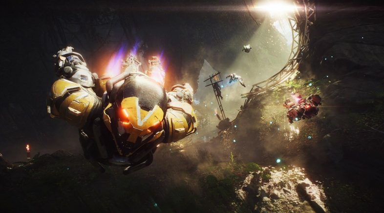 Un bug en Anthem provoca que as armas de nivel baixo sexan mellores que as do final do xogo