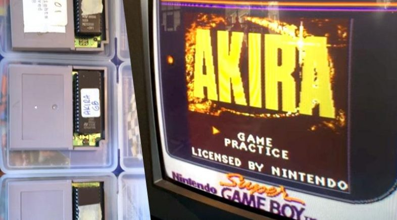 Un prototipo de Akira para Game Boy véndese por case 3.000 dólares