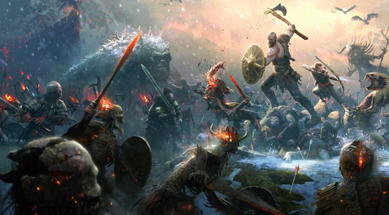 God of War celebra o seu primeiro aniversario cun tema dinámico e avatares de balde