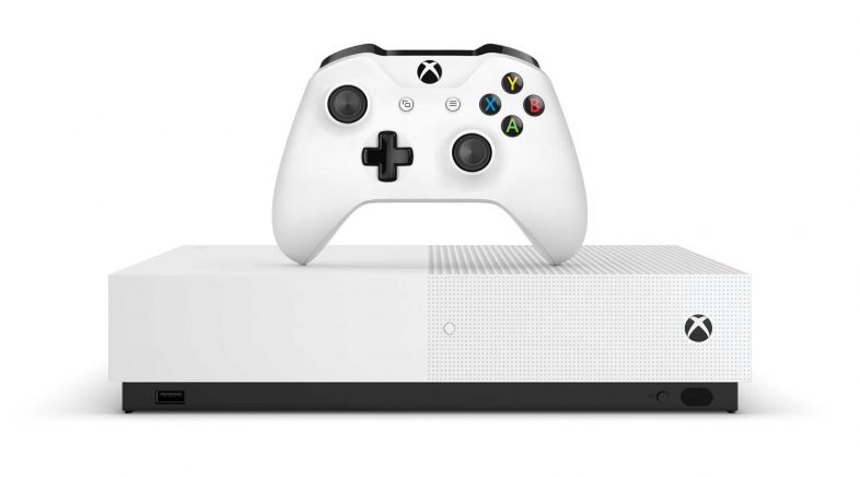 Microsoft pon data a Xbox One S All Digital e presenta un novo modelo de subscrición
