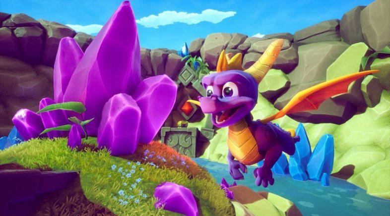 Taiwán ficha unha versión para PC de Spyro Reignited Trilogy