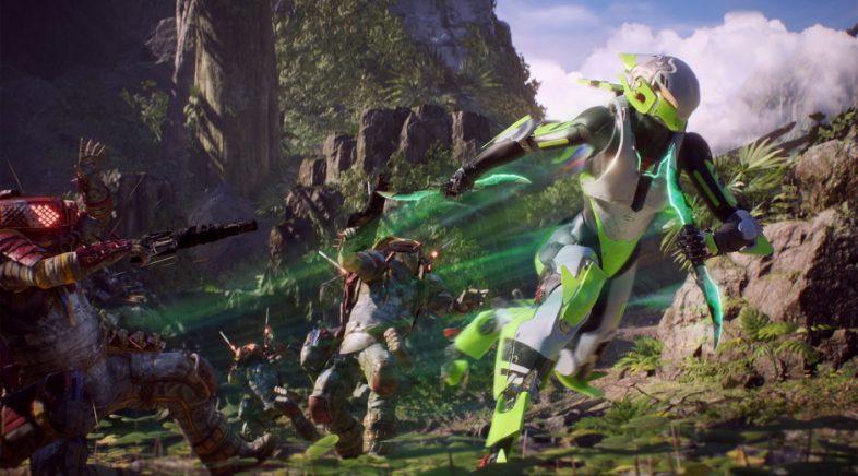 Anthem quédase lonxe das predicións de Electronic Arts