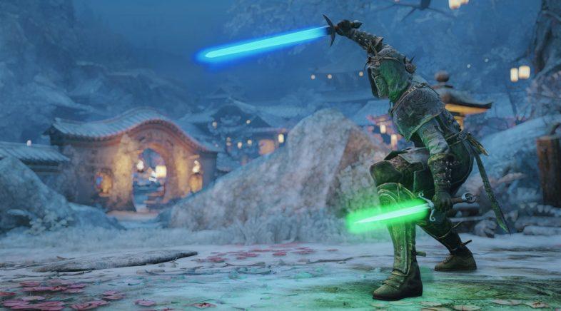 For Honor tamén opta pola Forza e saca as súas armas láser