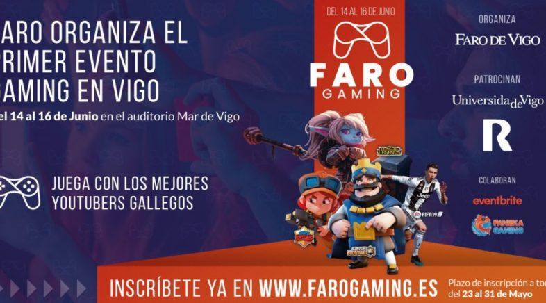 Faro Gaming, o evento que quere ser o mellor do seu tipo en Galicia