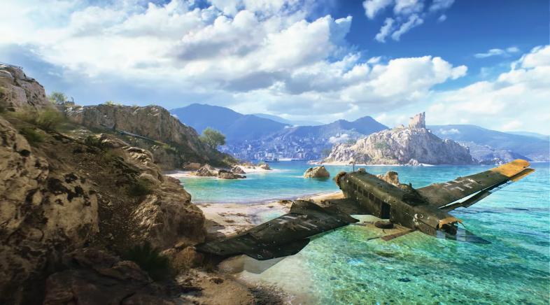 Battlefield V leva a guerra ata a illa de Creta