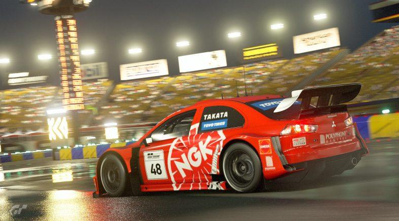 A choiva caerá sobre Gran Turismo Sport na súa nova actualización