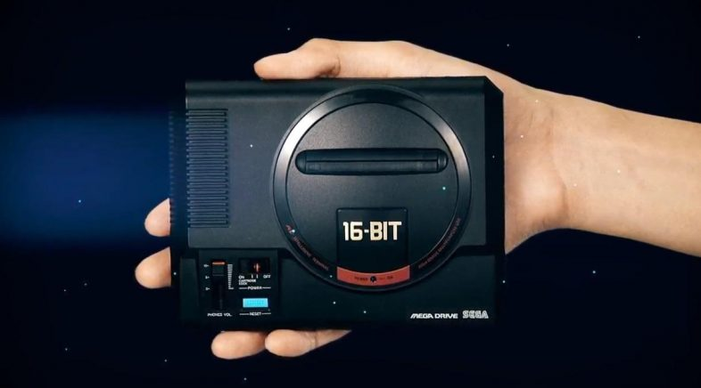 SEGA publica o catálogo completo que terá a súa futura Mega Drive Mini