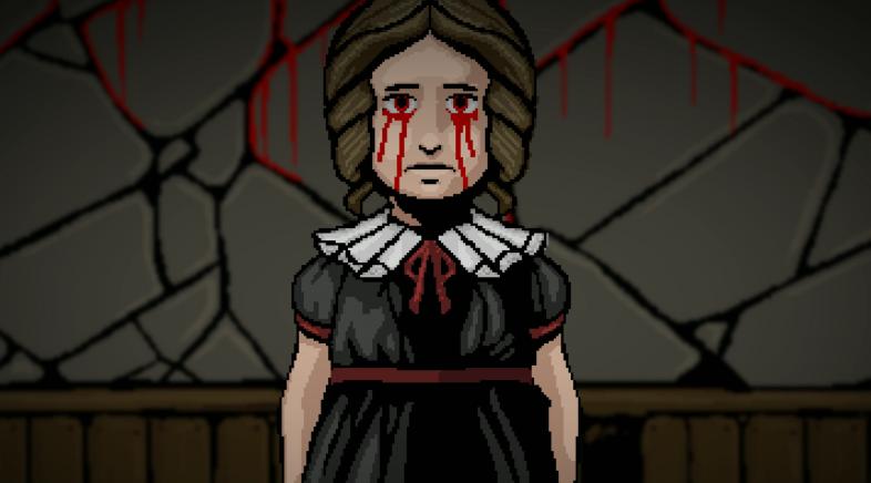 O terror pixel-art de Lamentum busca axuda para existir
