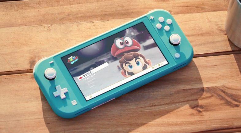 Nintendo presenta Switch Lite, só portátil e máis pequena