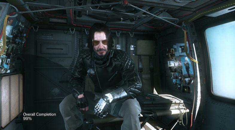 Un mod para MGSV permite trocar a Snake por Keanu Reeves