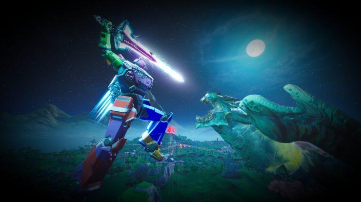 Fortnite remata a súa novena tempada cun duelo de titáns