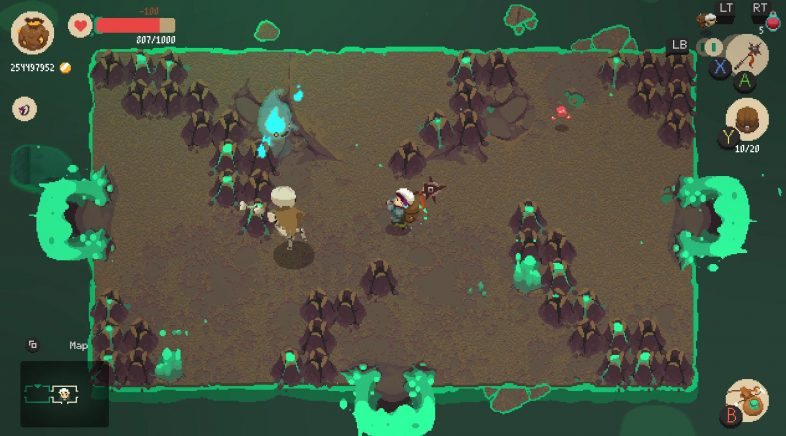 Between Dimensions é o primeiro DLC de pago de Moonlighter