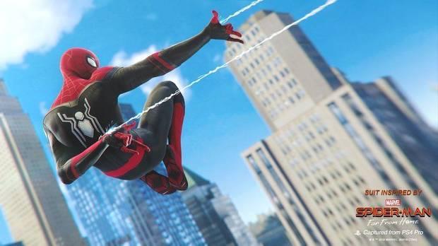 Marvel's Spider-Man actualízase con dous novos traxes de Spider-Man: Lonxe de casa
