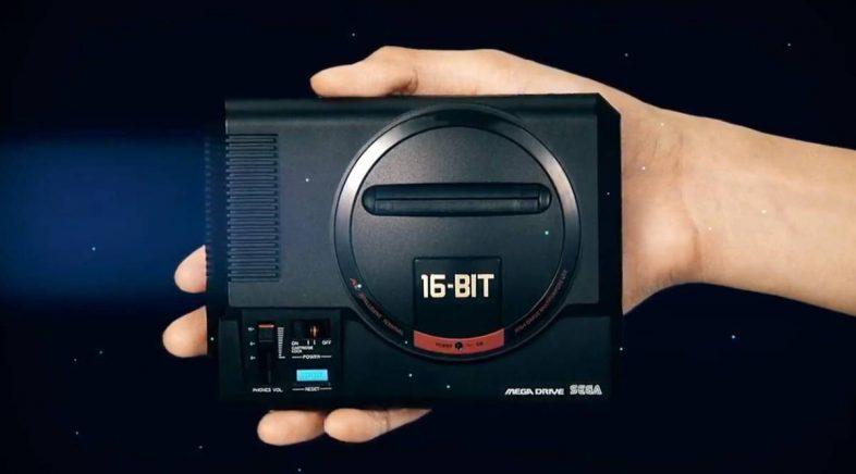 Mega Drive Mini atrásase dúas semanas, chegará en outubro
