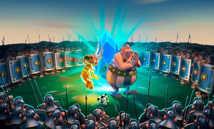 Astérix e Obélix volverán co Menhir de Cristal este novembro