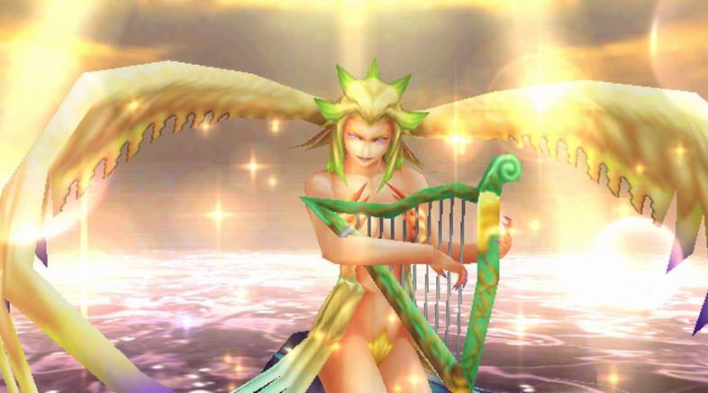 Final Fantasy VIII Remastered modifica o deseño dunha invocación