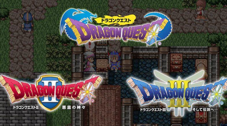 Os tres primeiros xogos de Dragon Quest chegarán a Switch