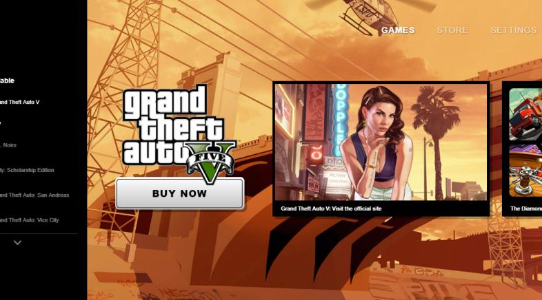 Rockstar lanza su propio launcher para PC con GTA San Andreas de regalo