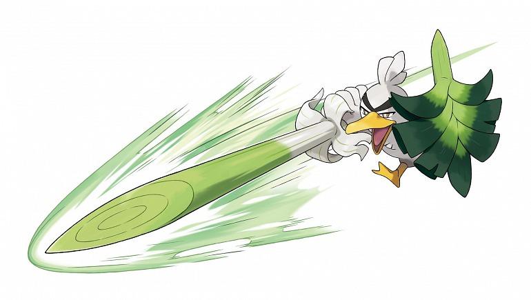 Sirfetch'd, así es el nuevo Pokémon de Espada y Escudo