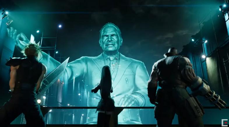 Final Fantasy VII Remake :: Así son os personaxes de Shinra
