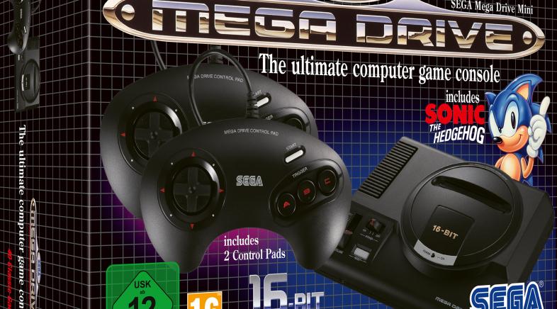 Mega Drive Mini celebra hoy su lanzamento