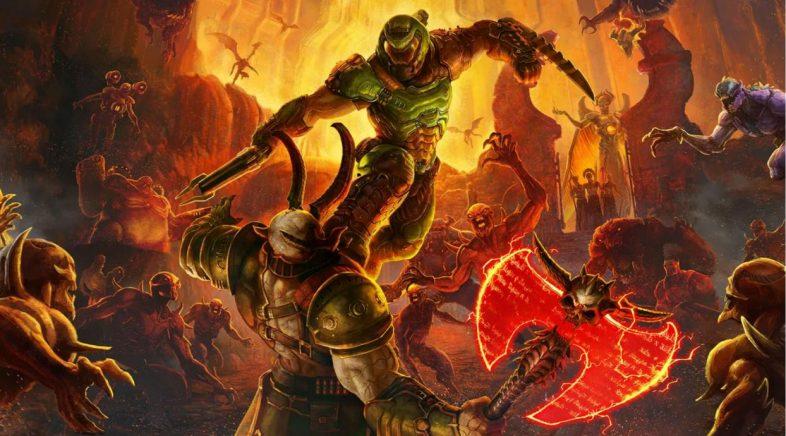 O lanzamento de Doom Eternal vaise até marzo do 2020