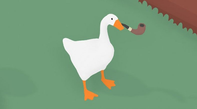 Untitled Goose Game :: Un ganso, uns panocos e moitas risas